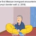 Oh no! A wall