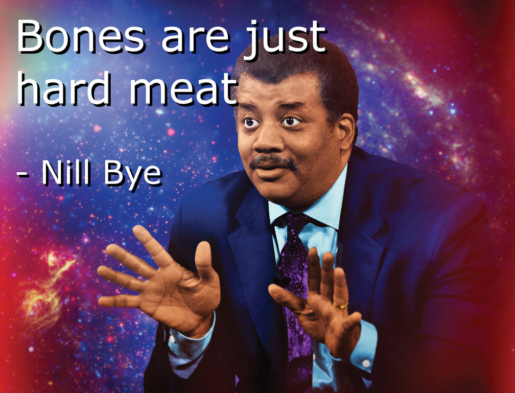 Booooooooooones - meme