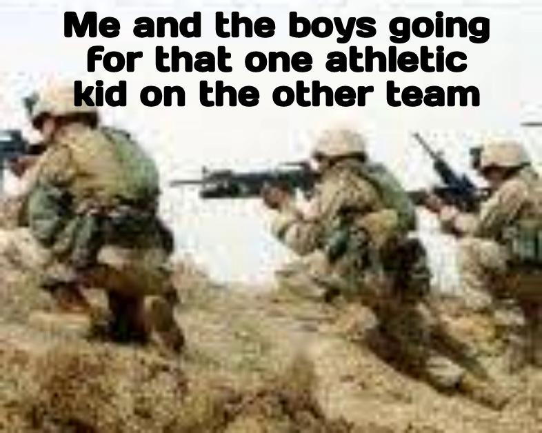 Dodgeball logic - meme