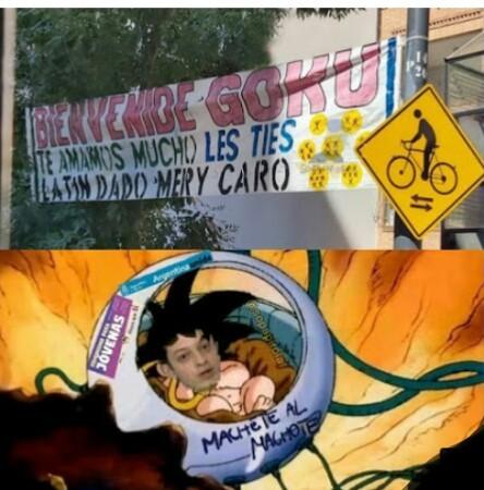 Goku progre - meme