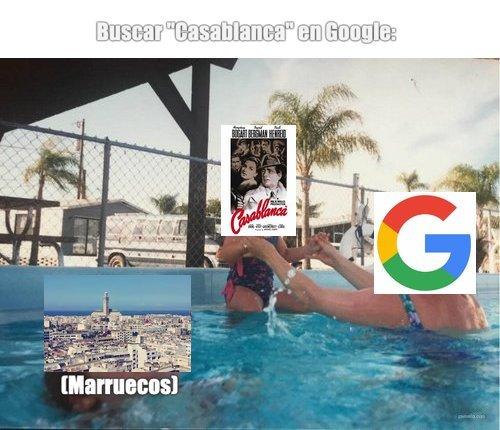 Técnicamente en Google imagenes si aparece la ciudad. - meme