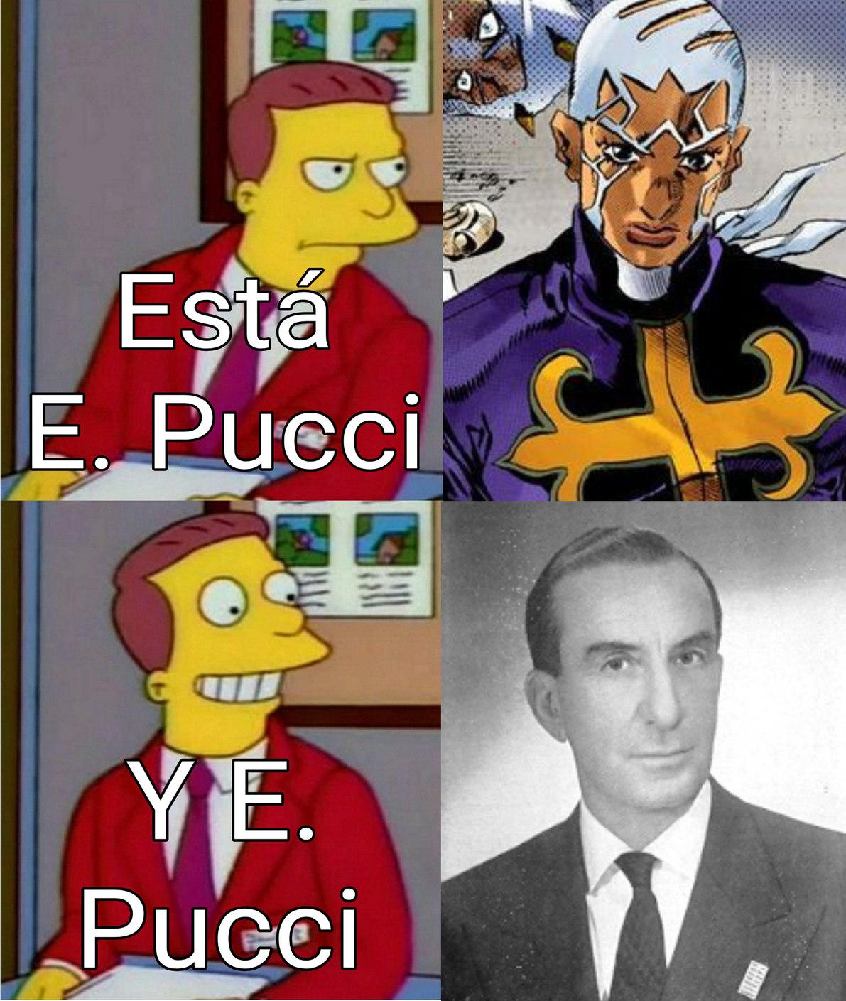 un capo E. Pucci :trollface: - meme