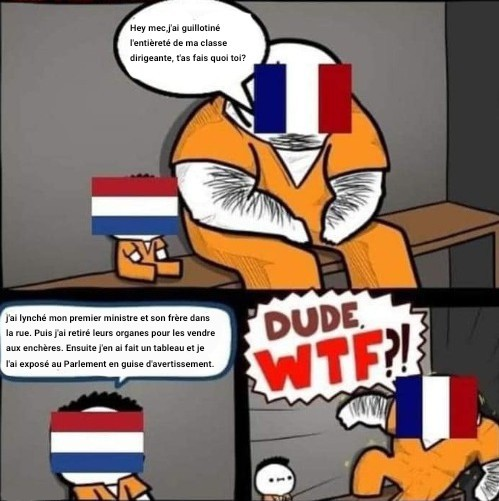 Ahhhhh les Pays-Bas - meme