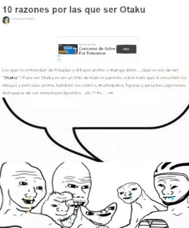 Hubiera puesto el globo de texto apuntando a un friki, pero creo que más que frikismo eso es sacoweismo extremo :yaoming: - meme