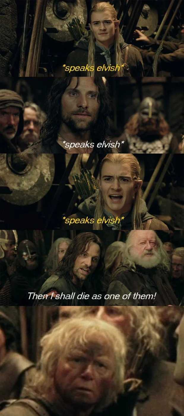 Soldier of Helm's deep: Hold up.. - meme