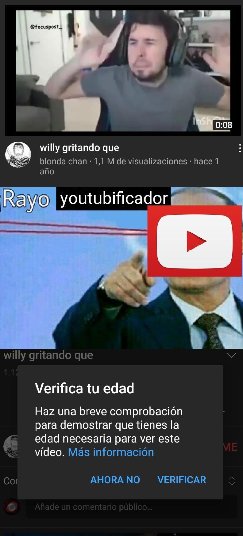 Tas bien, YouTube? - meme