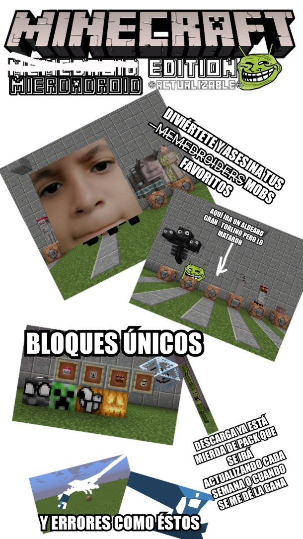 MIERDADROID PACK - meme