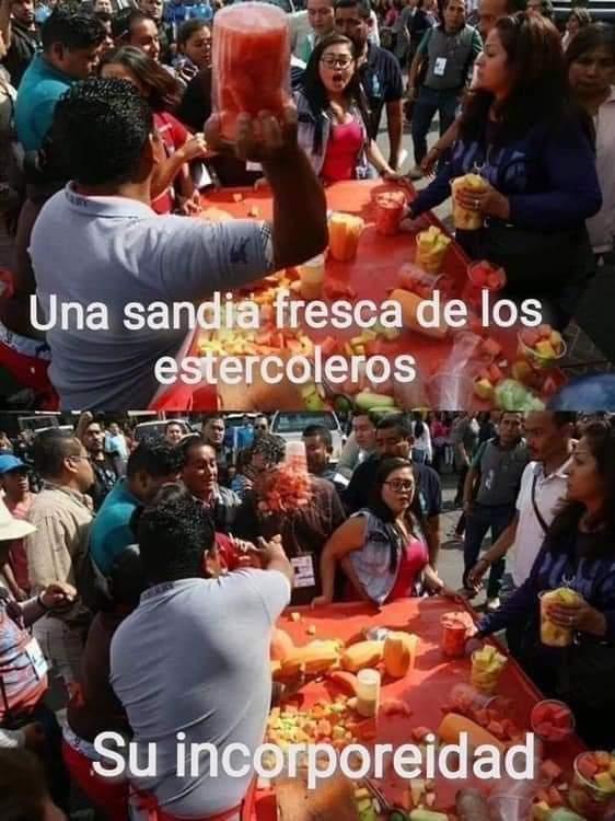 sandias - meme