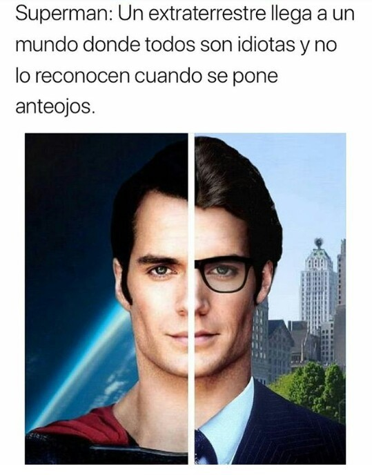SuperMan - meme