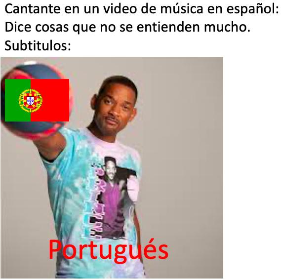Portugués - meme