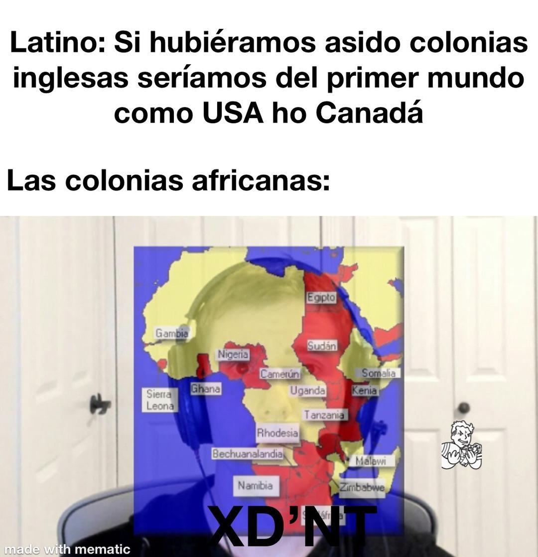 El Niño latino tiene 10 años y nunca ha leído nada sobre el imperio británico - meme