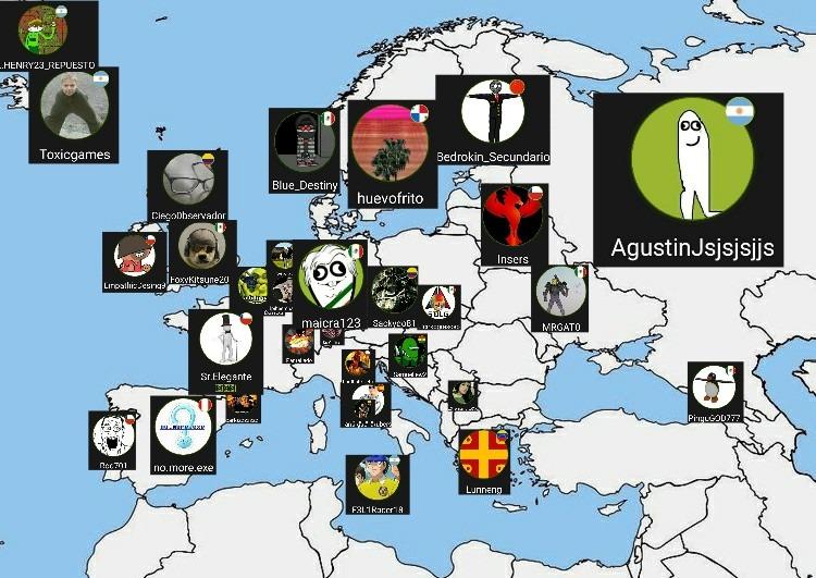 Ya aquí está el mapa ojalá lo acepten :) - meme