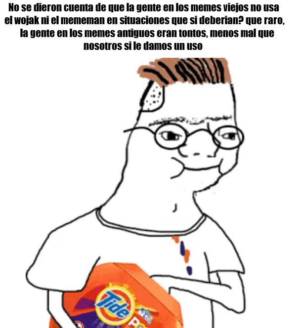No se si sea buen meme