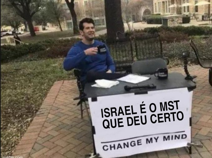 bora invadir a Palestina - meme