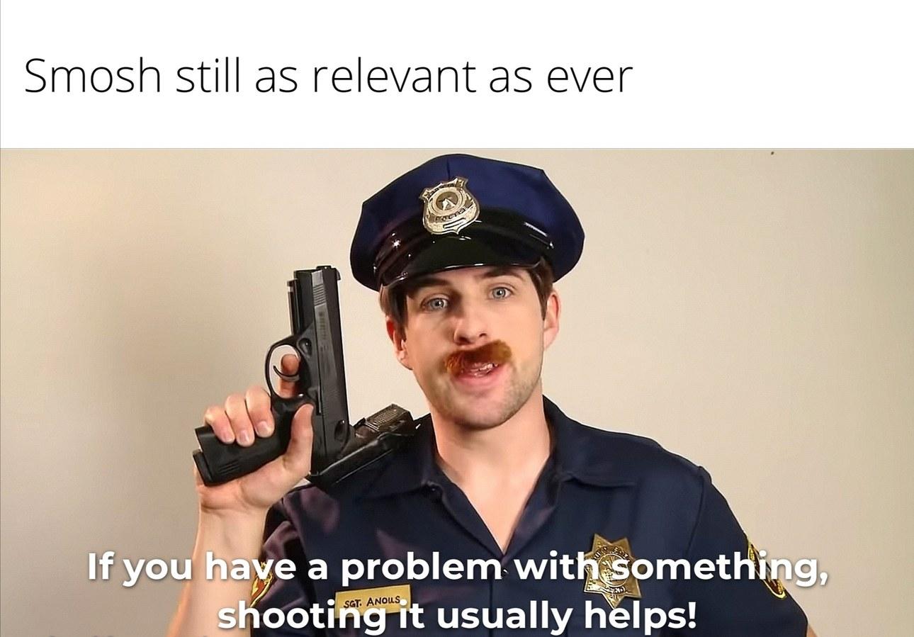 I miss old Smosh - meme
