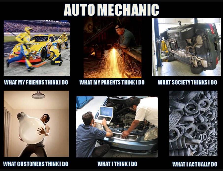 Tires and more tires and more tires - meme