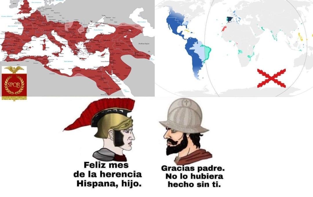 Feliz día de la hispanidad :happy: - meme