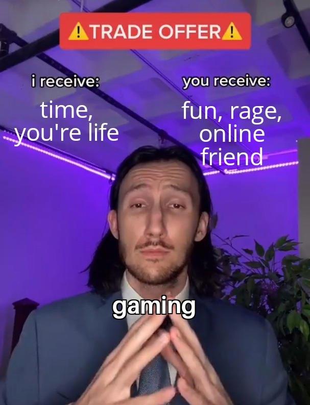 Vive le gaming - meme