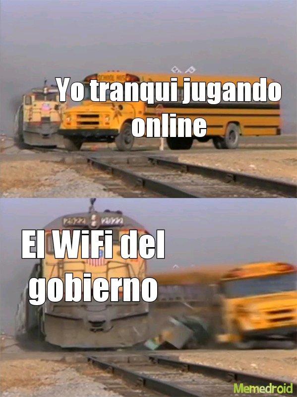Wifi del gobierno - meme