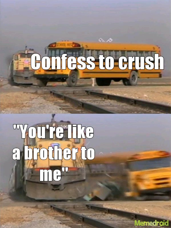 That damned brother zone - meme