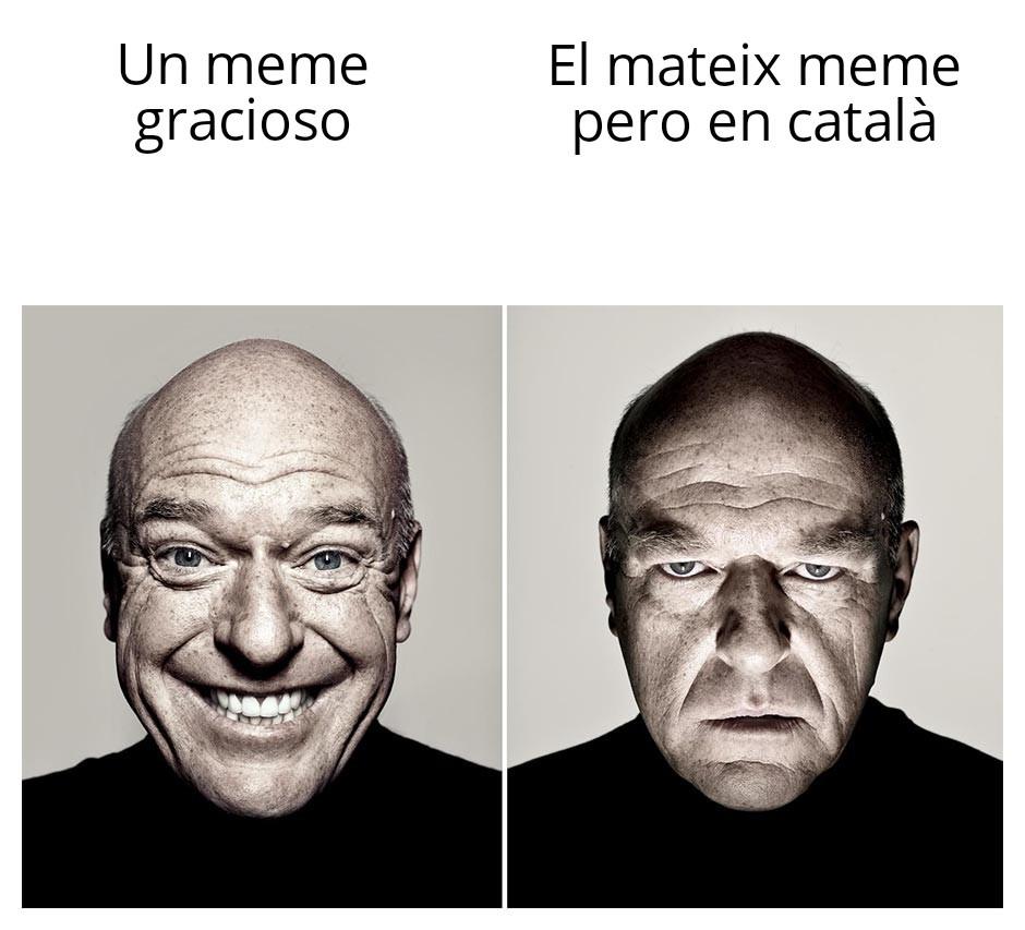 Soy catalan i nuestros memes son una mierda