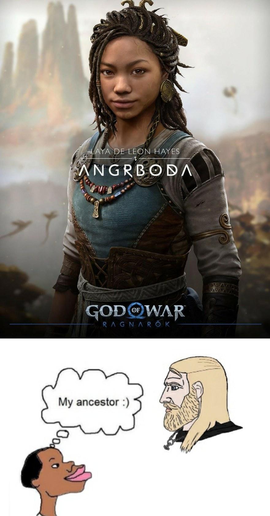 mamaco nórdico - meme