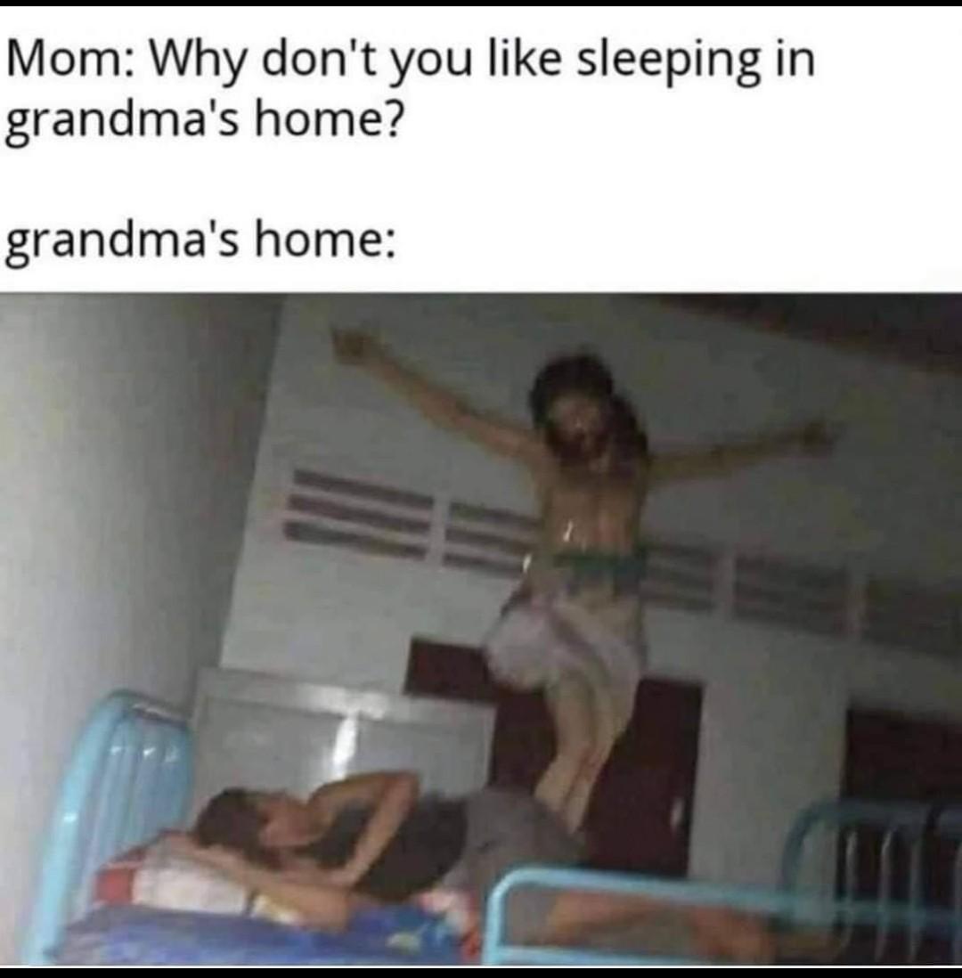 Gmas house - meme