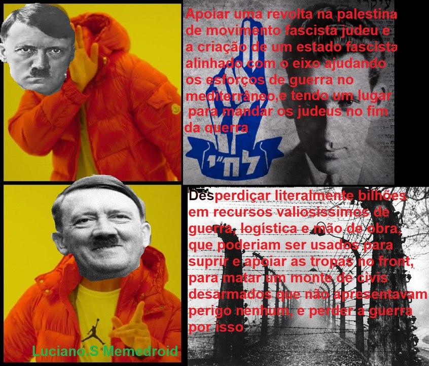 Adolfinho felizin - meme