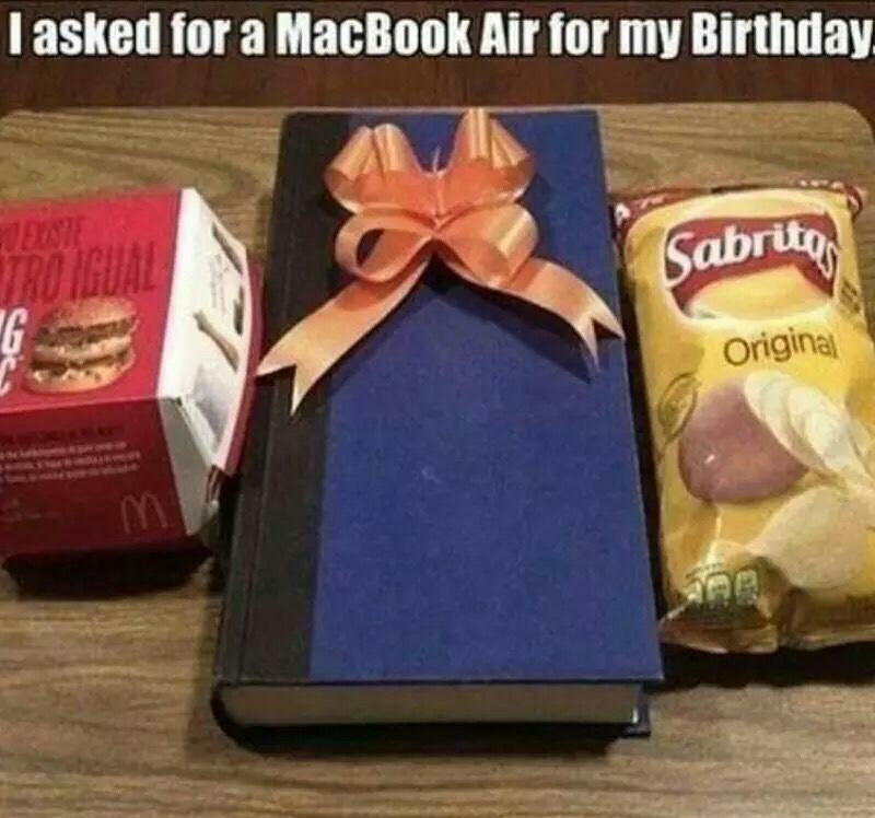 Mac book air - meme
