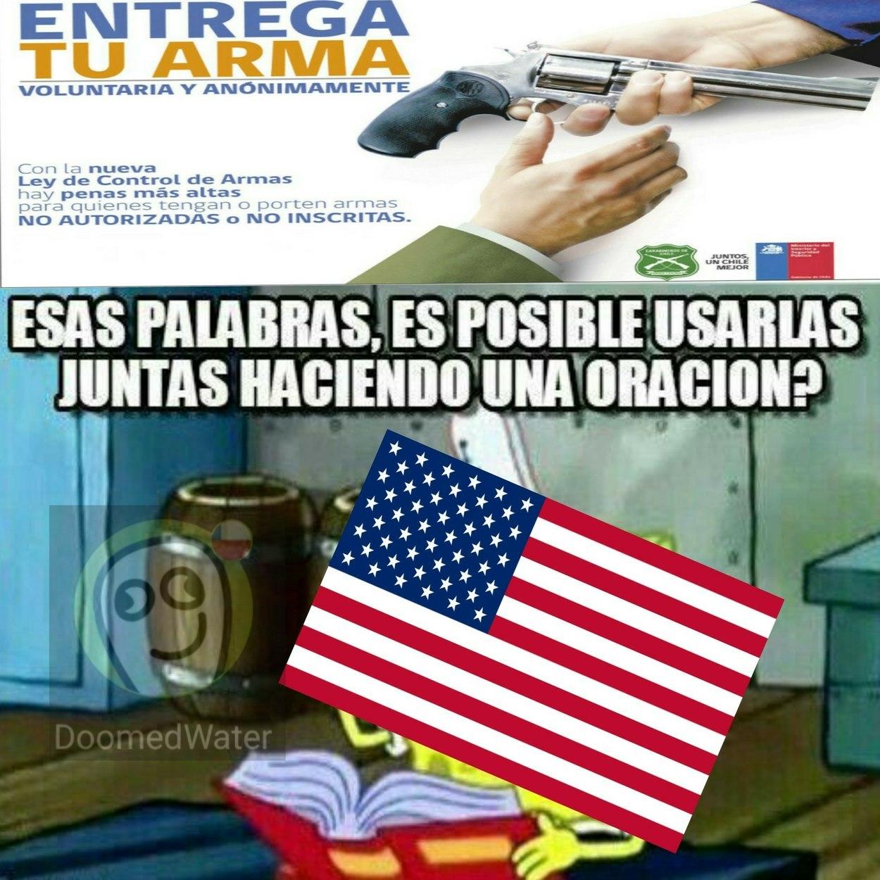 Estados Unidos. - meme