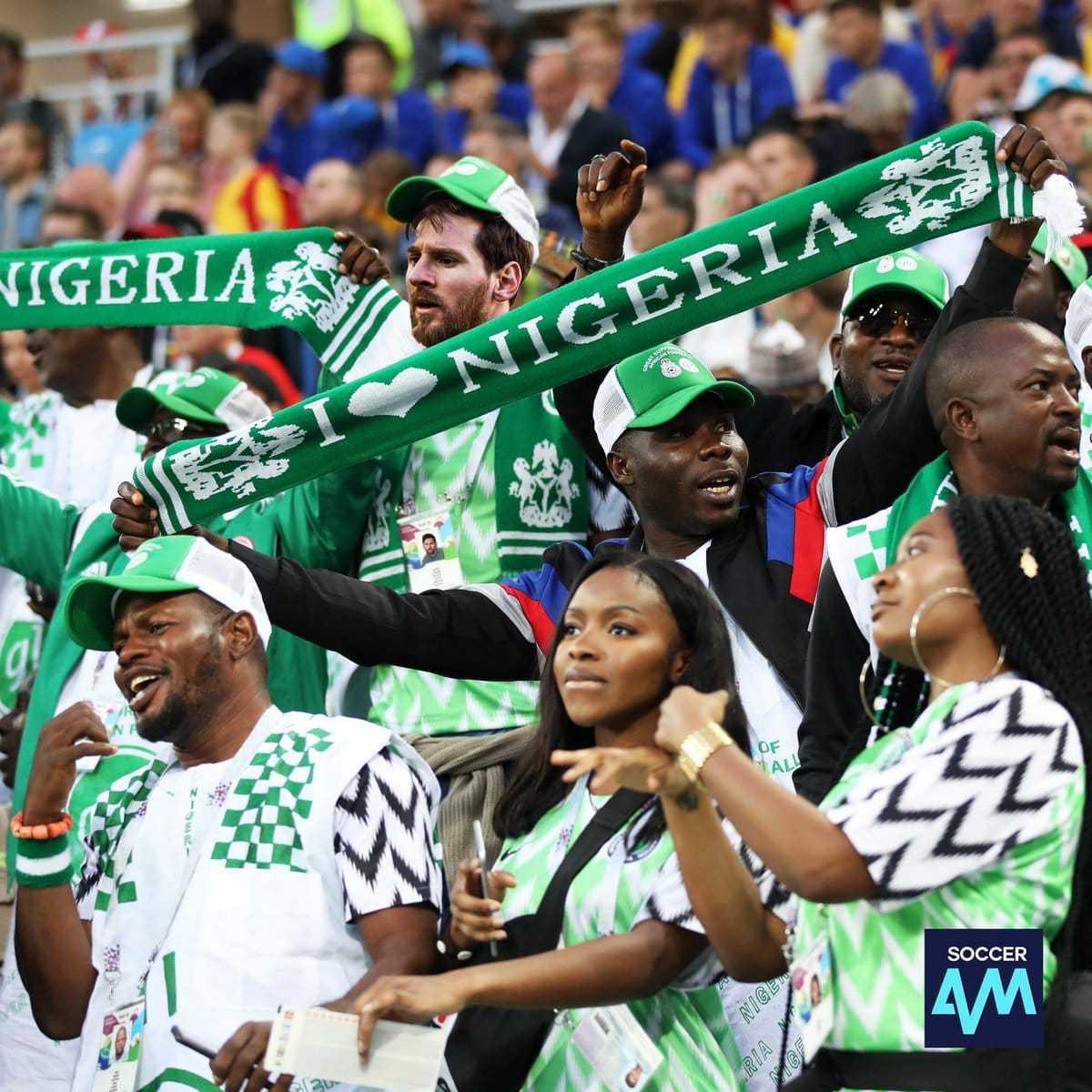 Messi en nigeria - meme