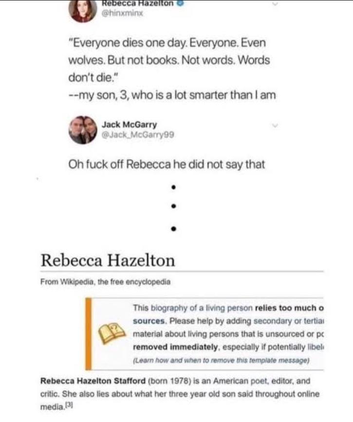 frick you Rebecca - meme