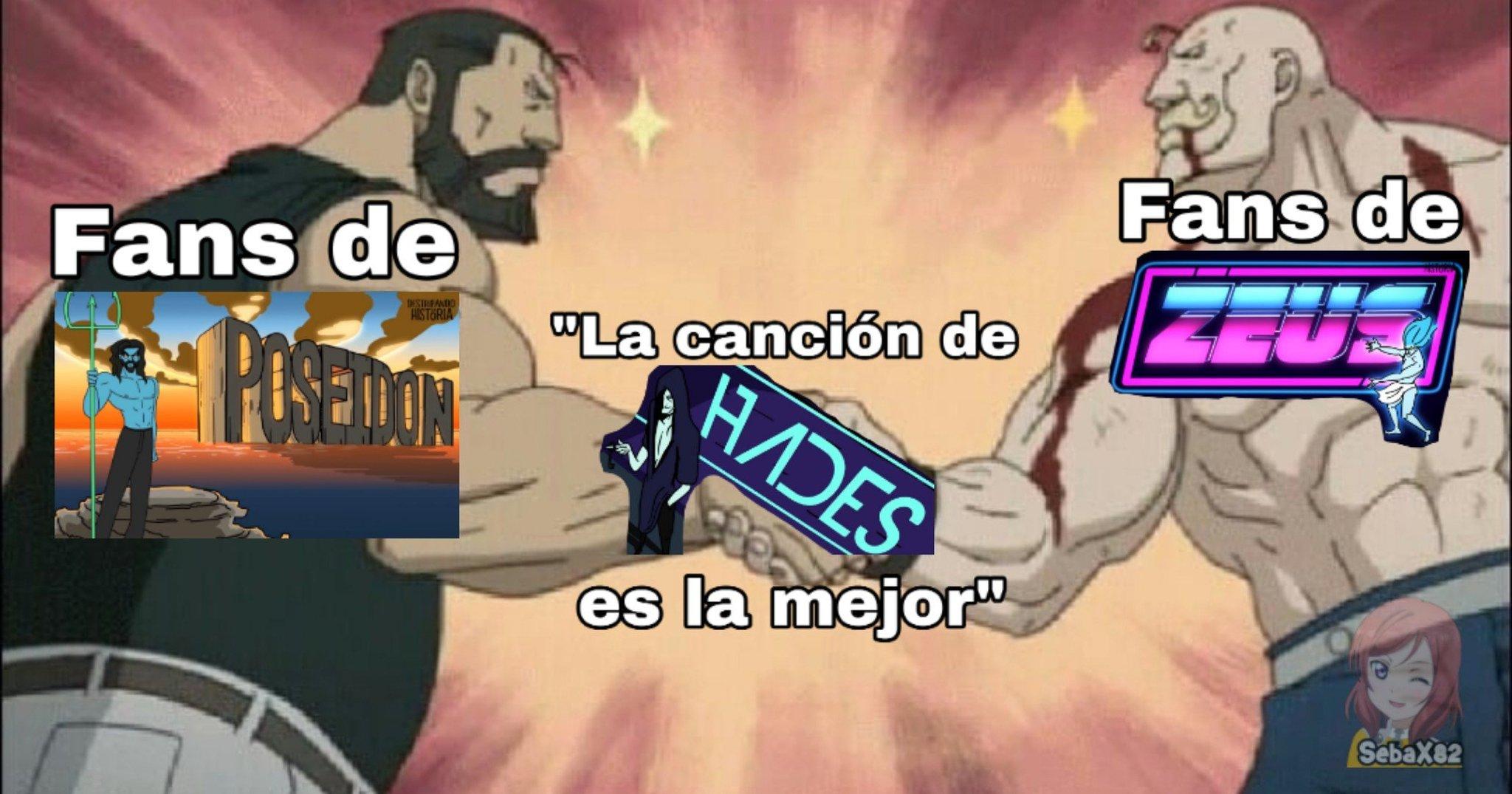 Hades > todas las demas - meme