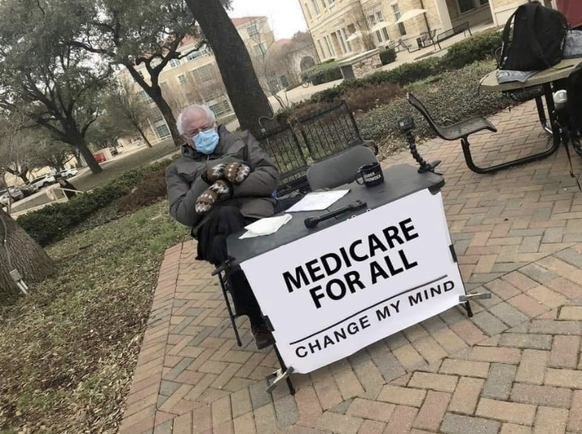 Medicare for all! - meme