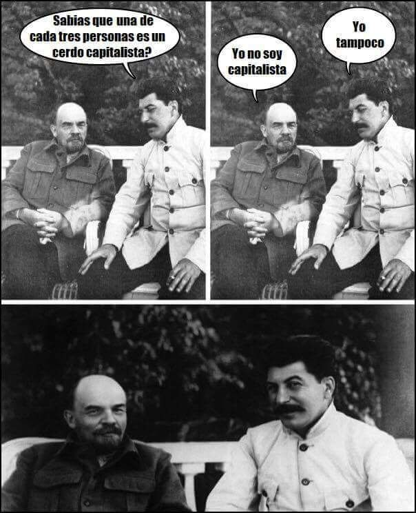 Soy capitalista - meme