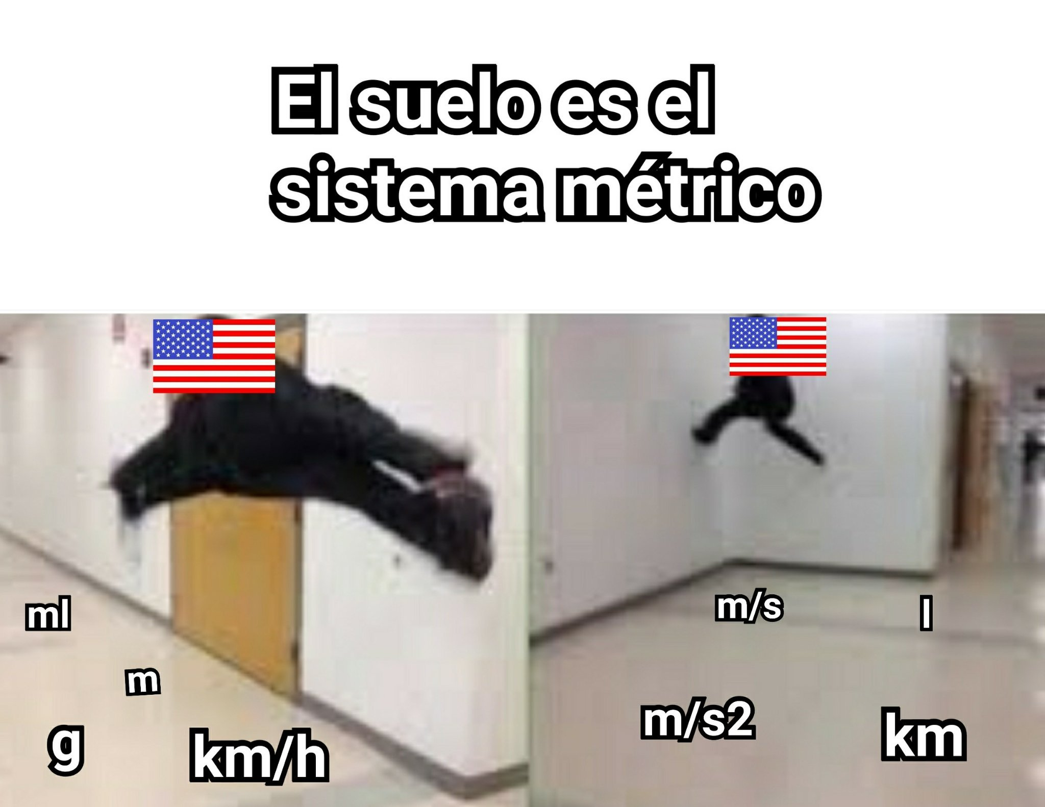 Pinches americanos - meme