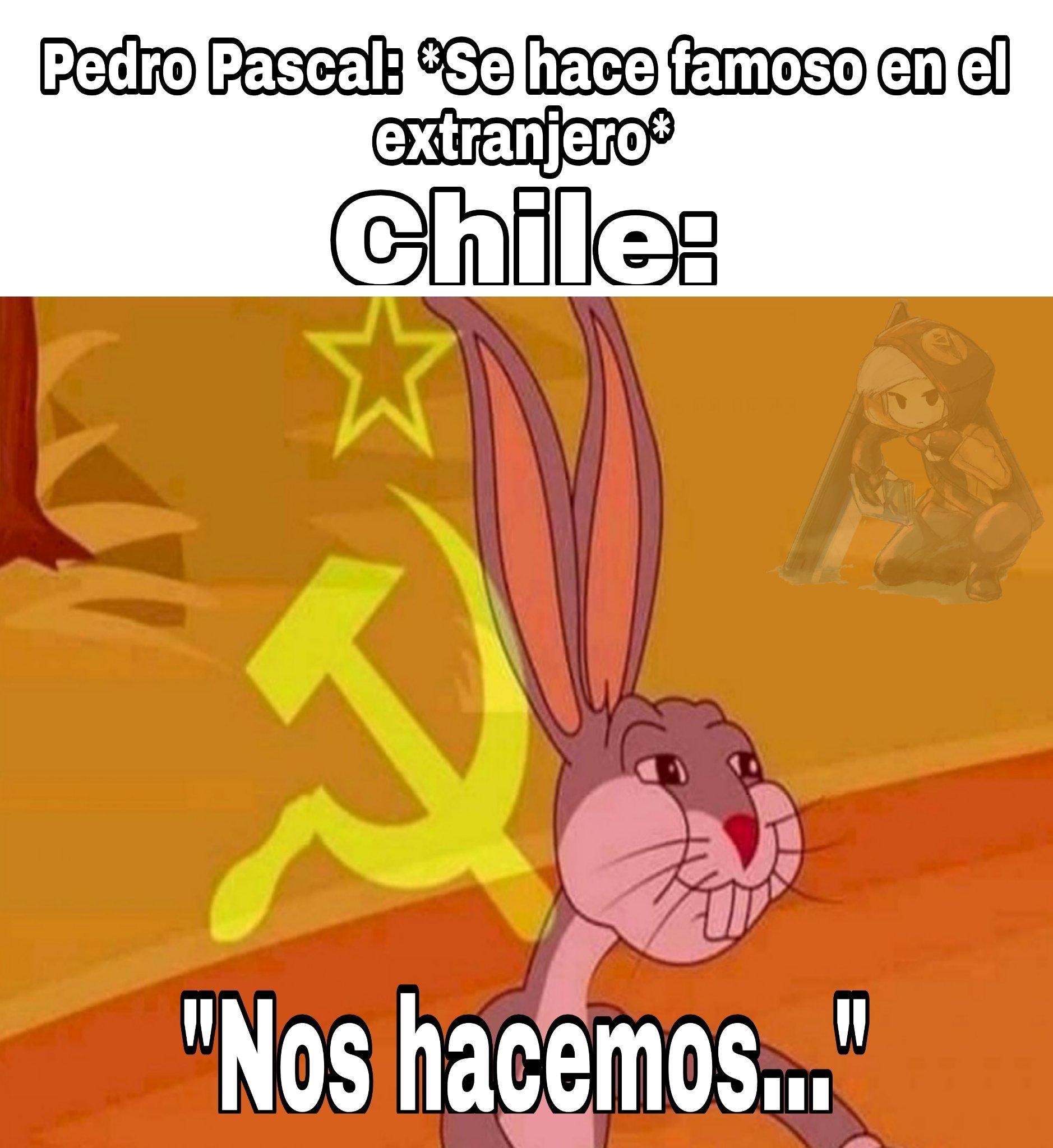 Que oportunistas son los chilenos - meme