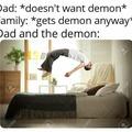Demon dad