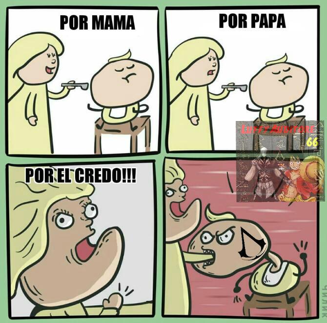 POR EL CREDO - meme