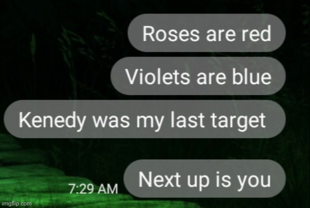 Roses are red - meme