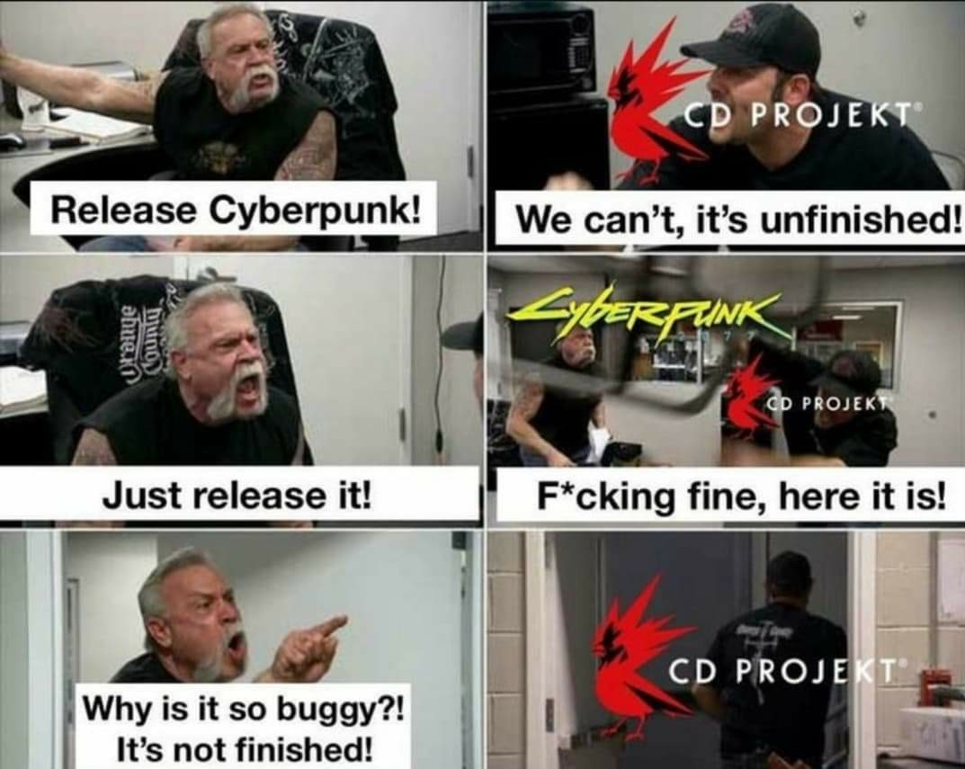 After Bugthesda we're getting Cyberbug 2077 - meme
