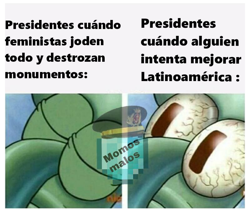 Voi a mejorar Latinoamérica - meme