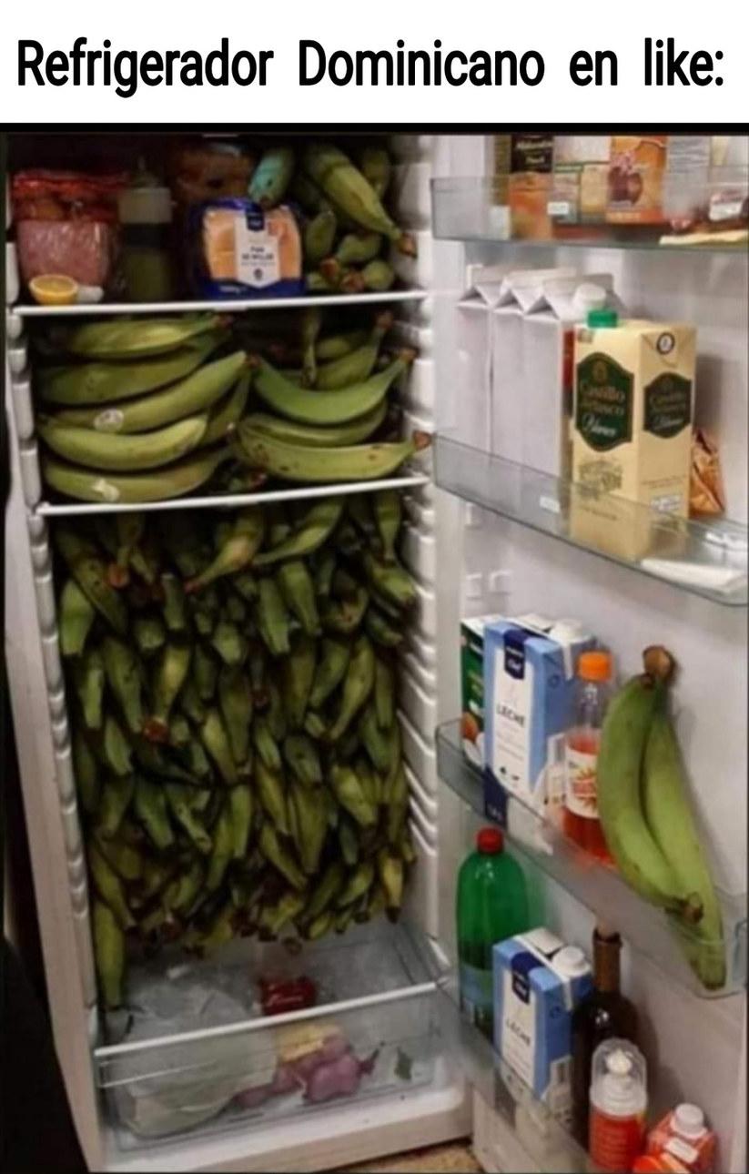 Amarillo llevo plátano - meme