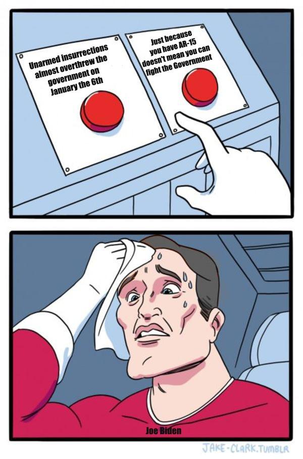 Decisions, decisions - meme