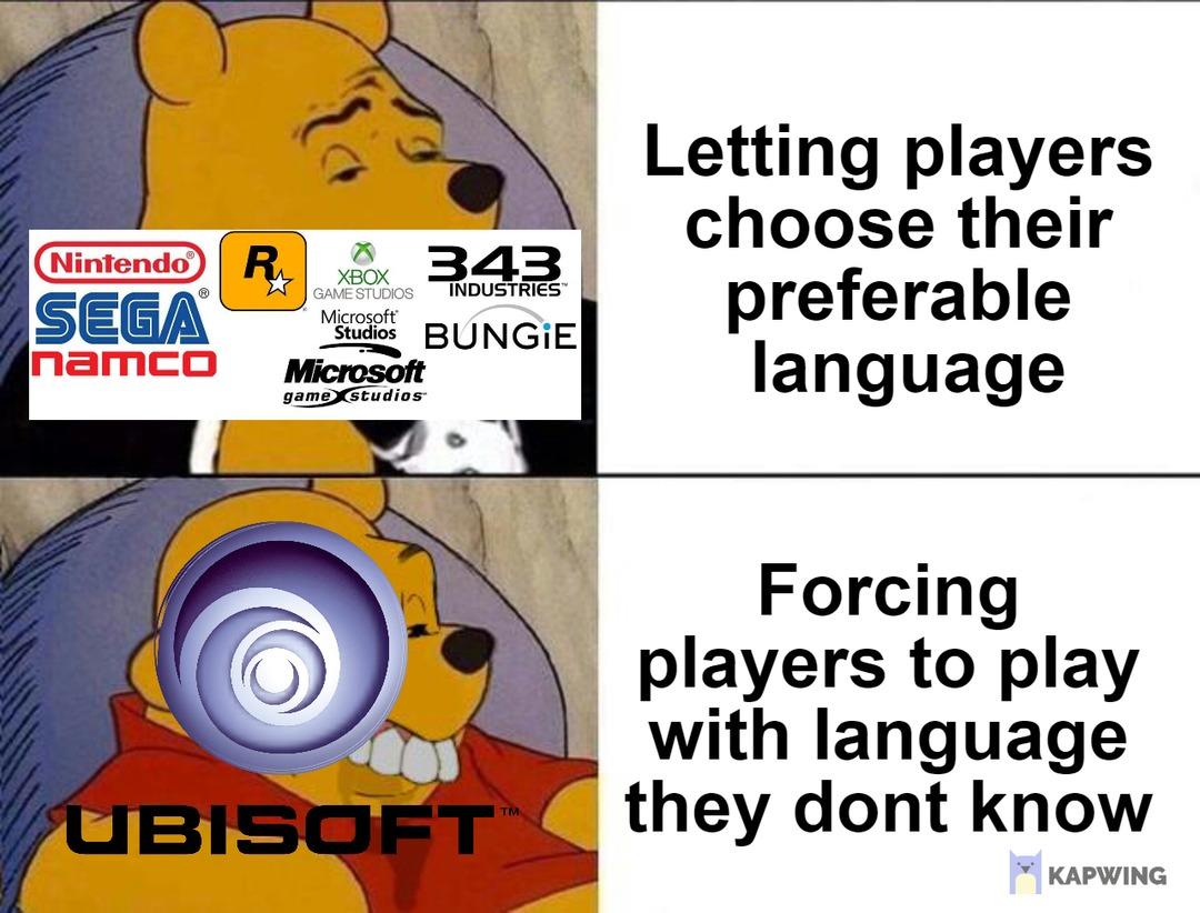 Ubisoft Logic - meme