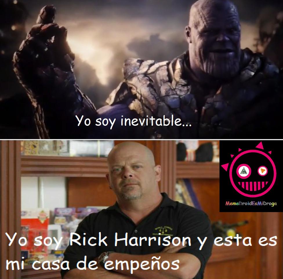 Thanos VS. Thanos. - meme