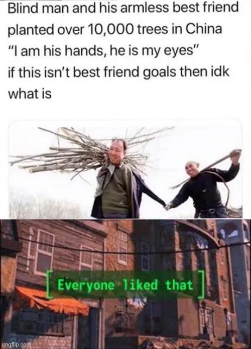 Friend in need is a friend indeed - meme