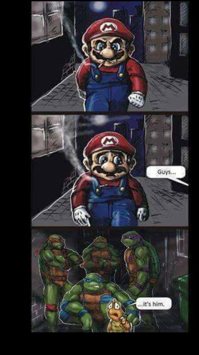 Hasta ahí llego Mario..... - meme