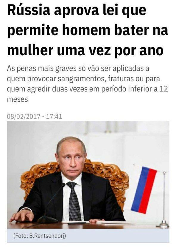 Partiu Russia - meme