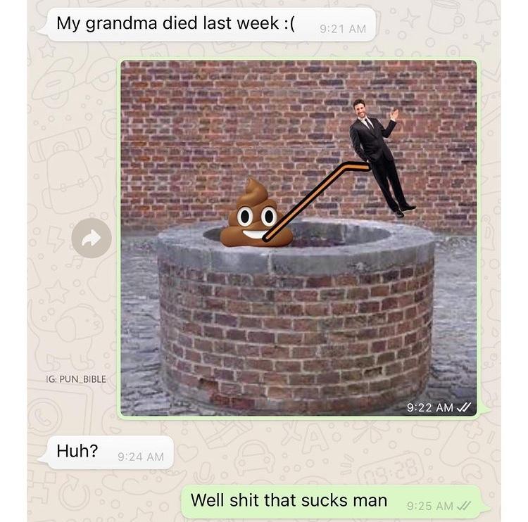 well shit that sucks man - meme
